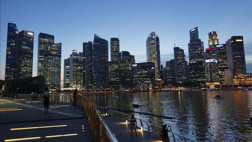 La economía de Singapur creció un 2,9 por ciento en 2014