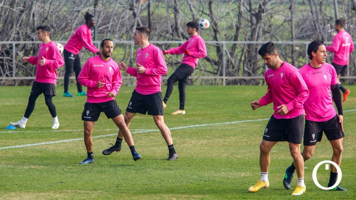 Imagen de un entrenamiento del Córdoba