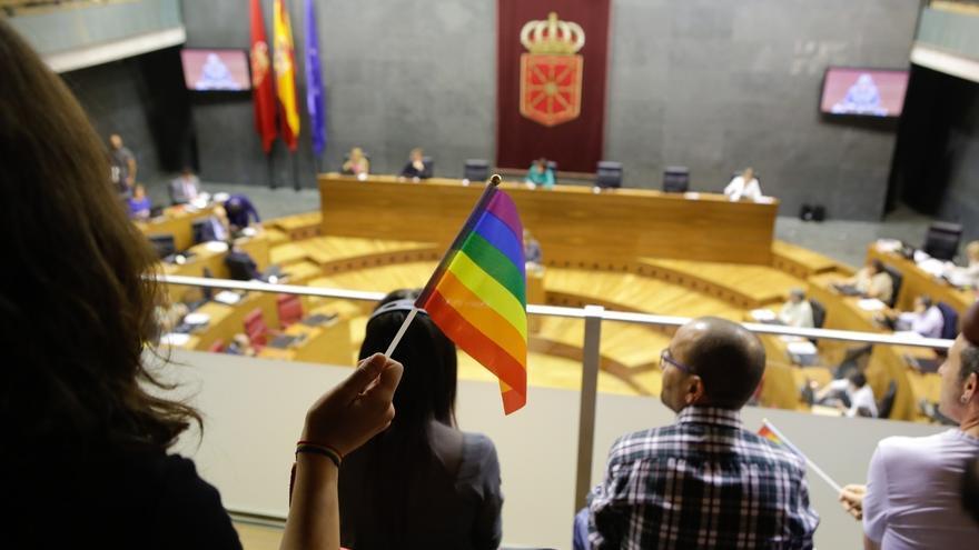 El Parlamento de Navarra aprueba una ley de igualdad del colectivo LGTBI+