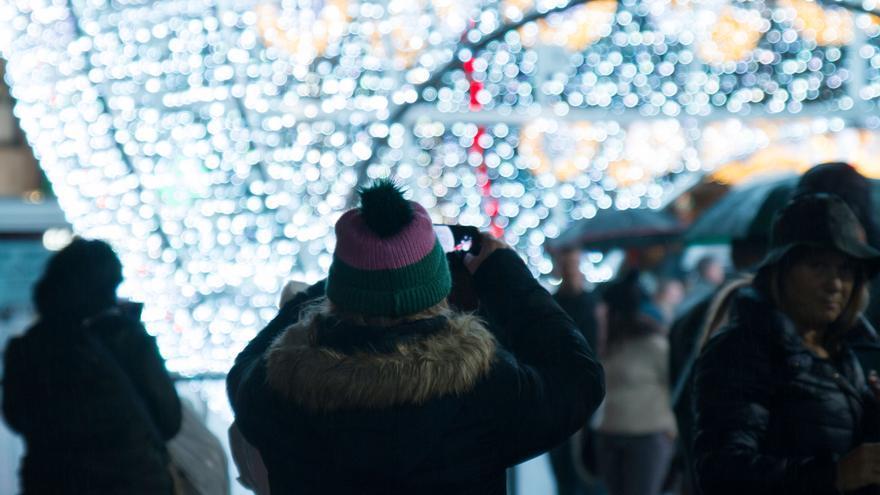 Iluminación de Navidad.