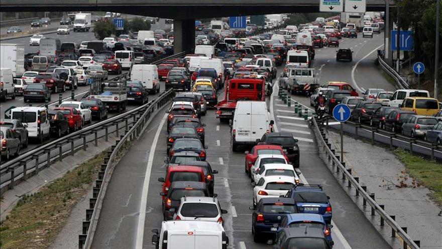 Catorce muertos en las carreteras españolas durante el fin de semana