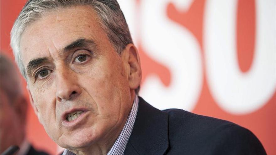 Ramón Jáuregui: El objetivo no es buscar un sucesor para Rubalcaba