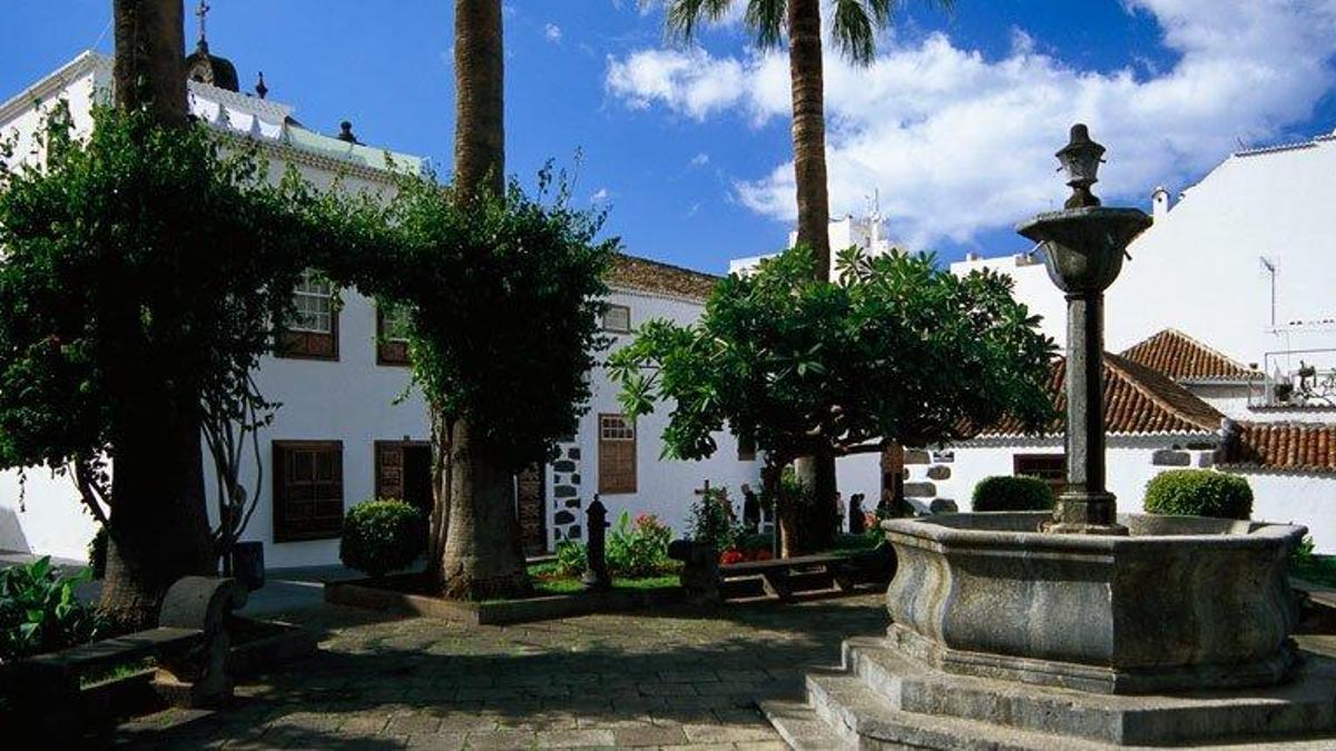 Plaza Chica del casco histórico de Los Llanos de Aridane.