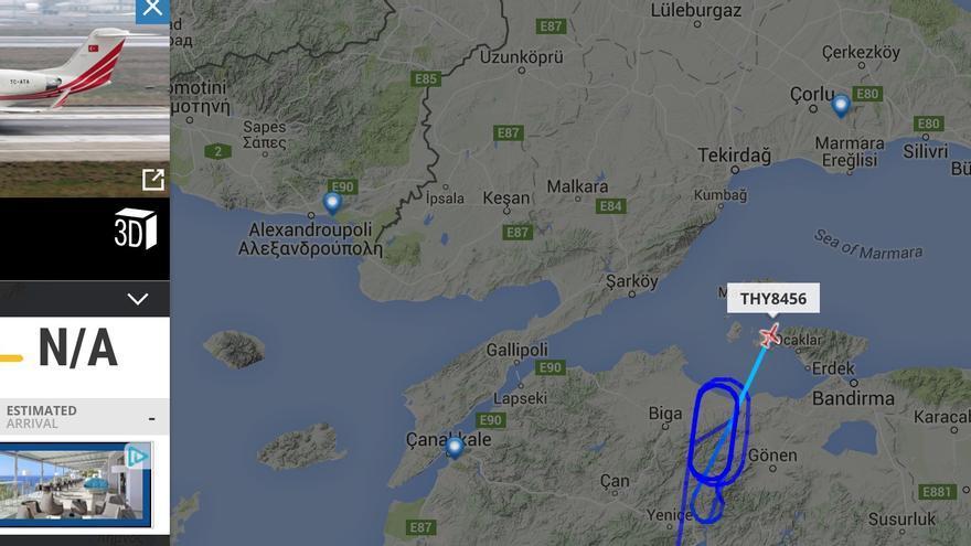 Golpe de estado en Turquia Avion-Erdogan_EDIIMA20160716_0046_18