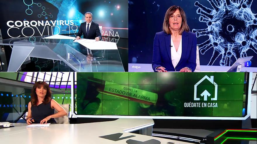 La televisión lo apuesta (casi) todo a la información por el coronavirus