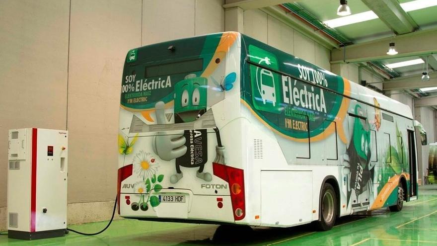 Ayuntamiento de Bilbao destina 1,2 millones para la compra de dos autobuses eléctricos