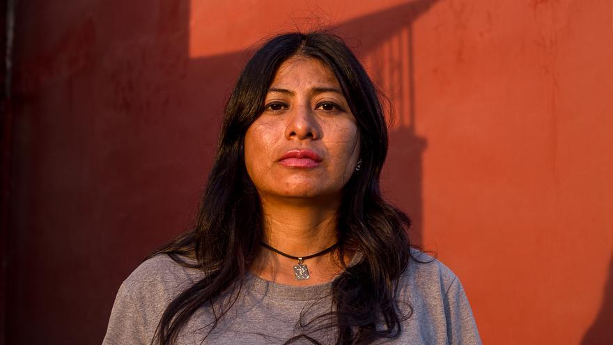 Perla Damián, integrande del Colectivo Solecito, busca a su hijo Víctor Álvarez, desaparecido a los 16 años en 2013