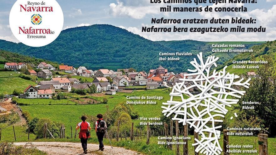 Navarra presentará en FITUR su riqueza cultural y natural a través de sus caminos y senderos