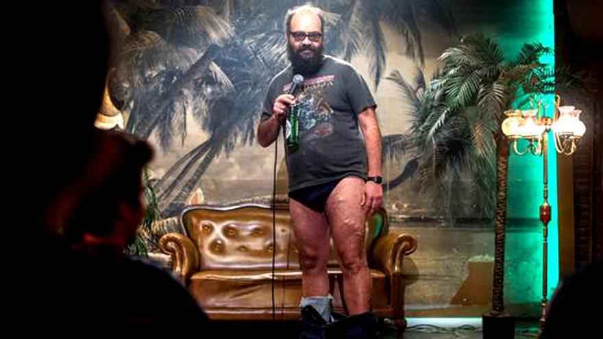 Ignatius Farray, sin barba por 'El fin de la comedia'