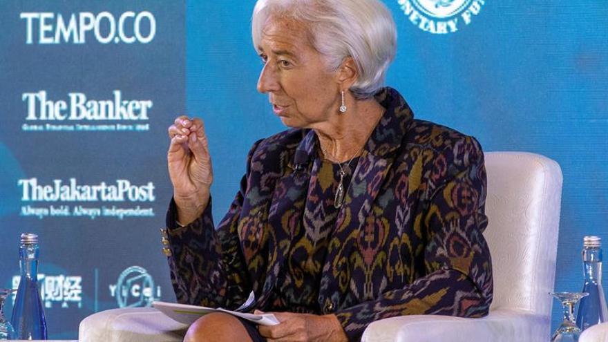"""Lagarde espera un """"trabajo monumental"""" para cuando el FMI asista a Venezuela"""