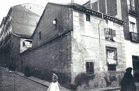 El edificio de la imprenta de María Quiñones estuvo en pie hasta 1930 | Caminando por Malasaña (Blog de Carlos Osorio en S.M.)