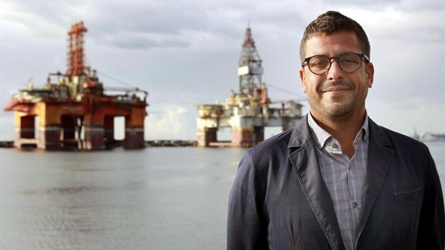 Airam Díaz, director comercial de Puertos de Tenerife / Cristóbal García/EFE
