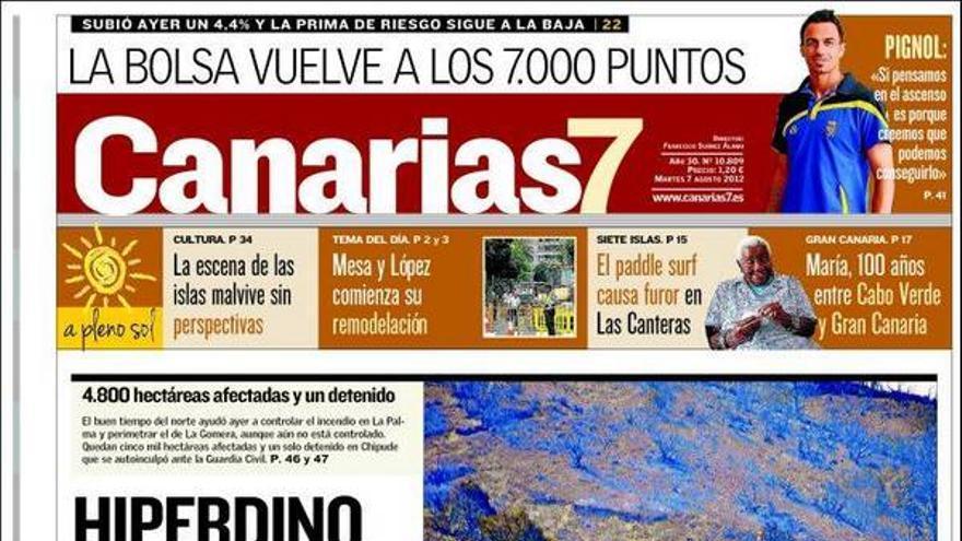 De las portadas del día (07/08/2012) #2
