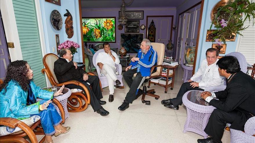 Fidel Castro se reunió con José Mujica en última jornada de la cumbre Celac