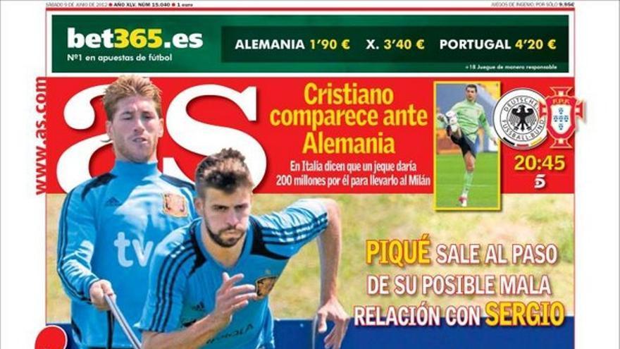 De las portadas del día (09/06/2012) #11