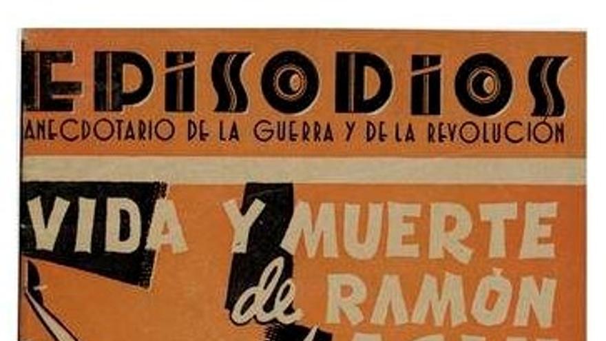 Felipe Alaiz fue primer biógrafo de Acín, con el libro 'Vida y muerte de Ramón Acín' (1937).