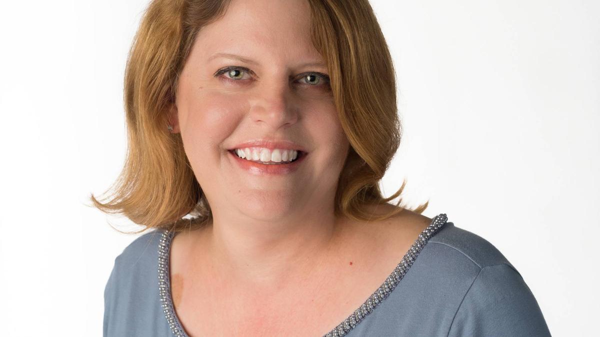 Sally Buzbee en 2016, cuando fue nombrada directora editorial de Associated Press
