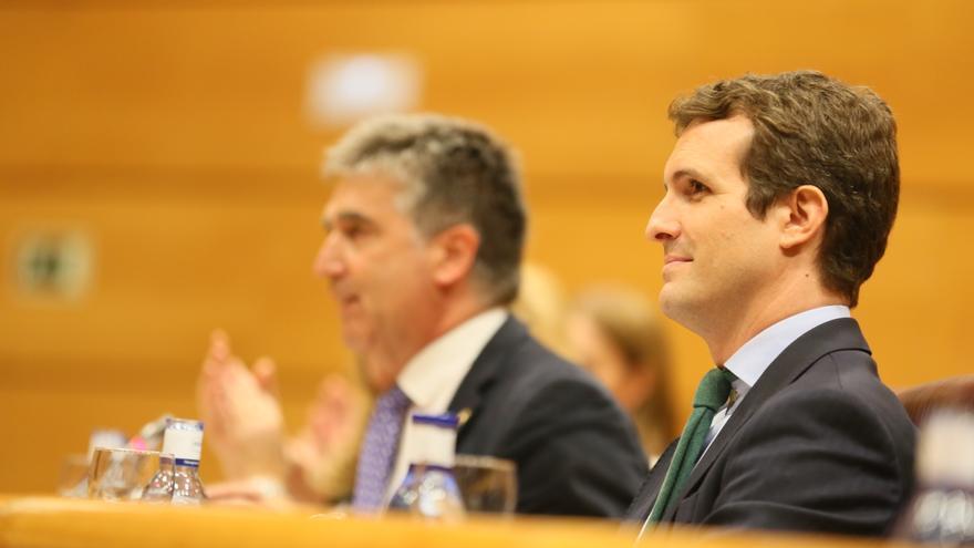 Ignacio Cosidó y Pablo Casado, en una imagen de archivo.