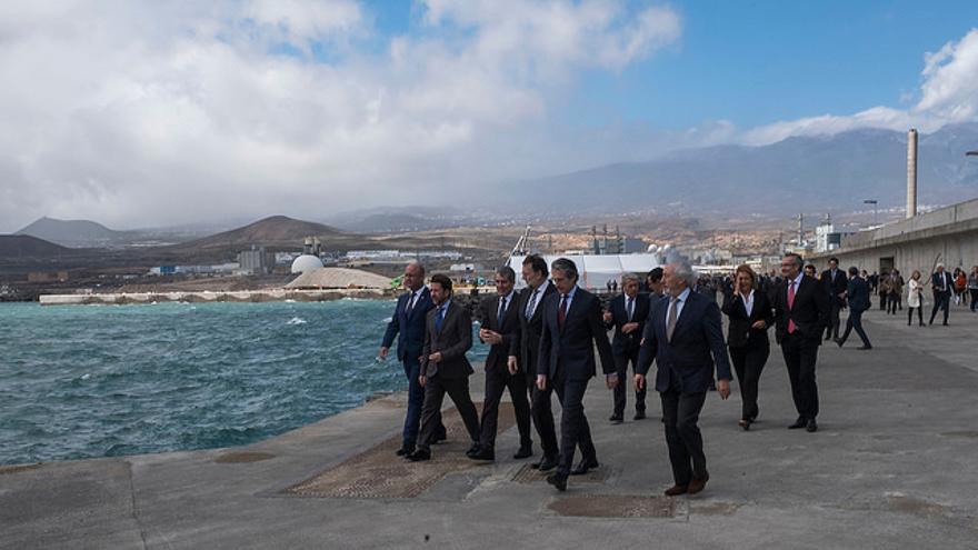 Inauguración del Puerto de Granadilla