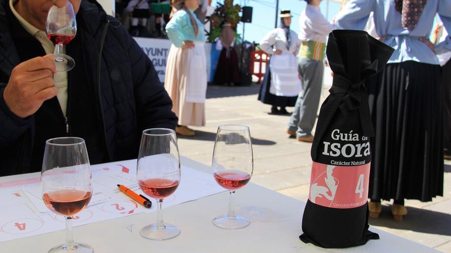 Imagen de archivo del certamen de vinos de Chirche, en Guía de Isora