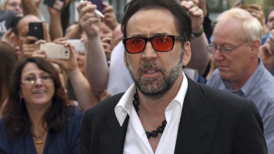"""Nicolas Cage tiene su estrella en el """"Walk of Fame"""" de una provincia alemana"""