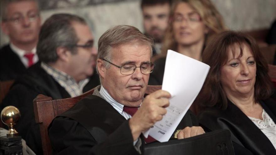 Areces respeta la sentencia y lamenta que no se depure responsabilidad política