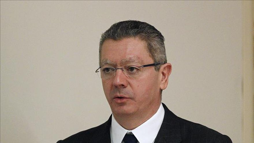 Gallardón afirma que tiene el apoyo de Rajoy y del Gobierno para la reforma del aborto