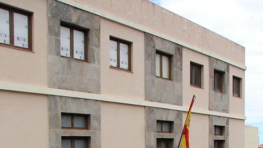 Sede principal de los juzgados de La Orotava