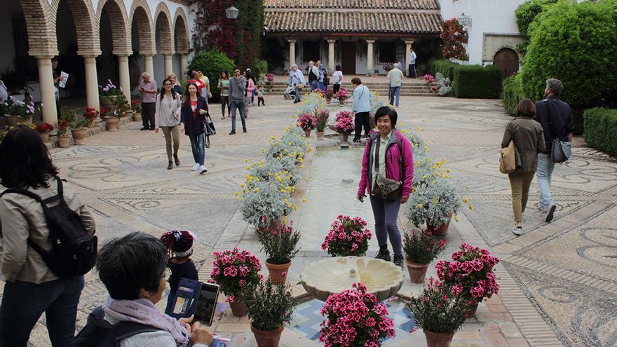 Una anterior jornada de puertas abiertas en el Palacio de Viana | CONCHI MORALES