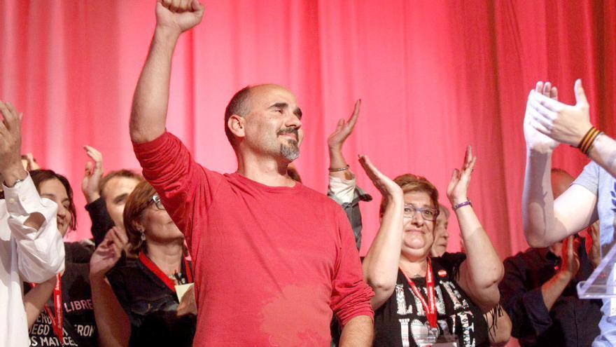 El coordinador general de Esquerra Unida, David Rodríguez