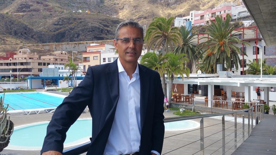 José Jaubert es presidente del Club Náutico de la capital. Foto: LUZ RODRÍGUEZ.