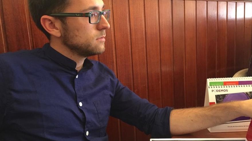 Roberto Gil, consejero de Podemos en el Cabildo de Tenerife