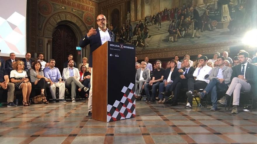 """Buch (ACM) pide que los alcaldes que no apoyen el 1-O """"sean fieles"""" a la gente y no al TC"""