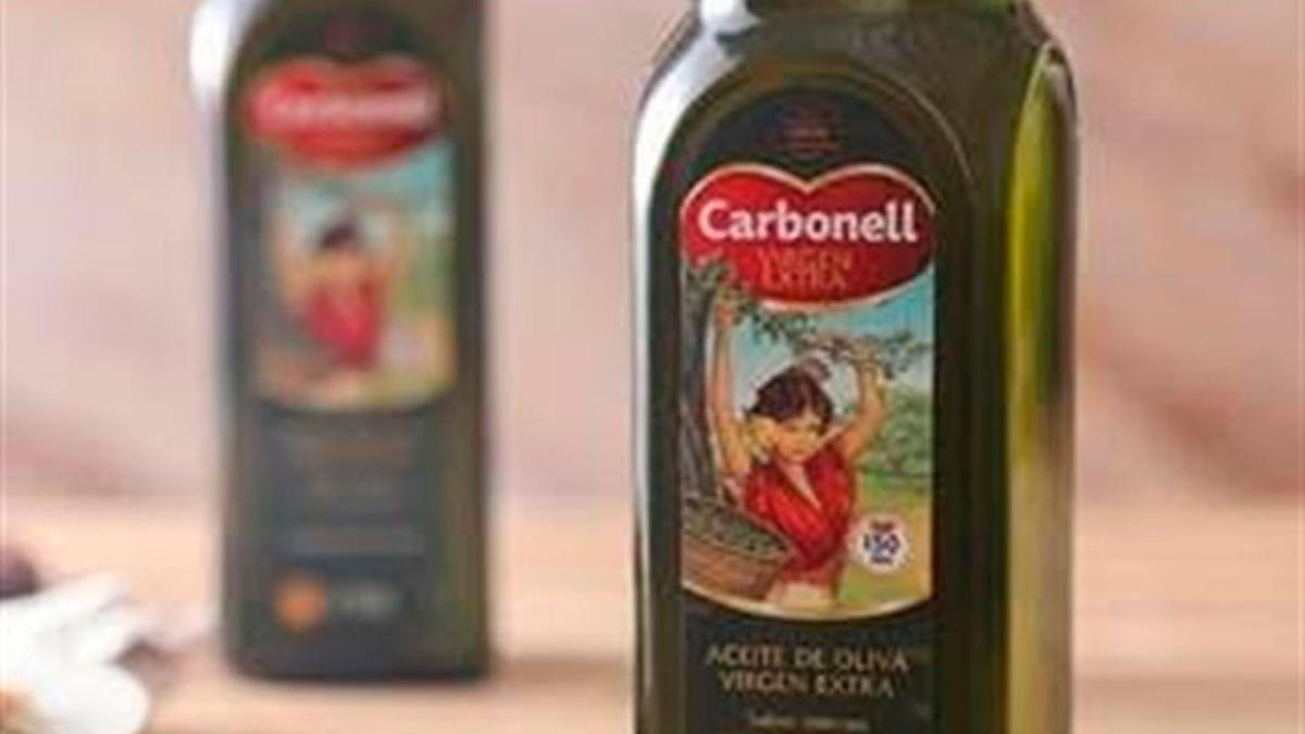 Aceite Carbonell comercializado por Deoleo.
