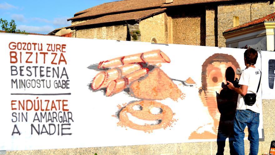 Campaña de comercio justo / FOTO: Setem Hego Haizea