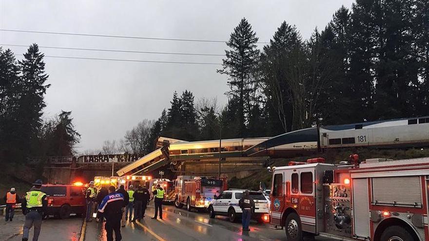 Múltiples heridos y víctimas mortales en un accidente de tren en EEUU
