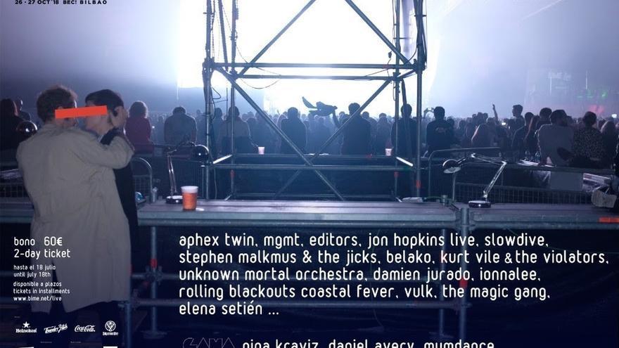 Aphex Twin, MGMT, Nina Kraviz y Editors lideran las primeras confirmaciones de BIME Live 2018