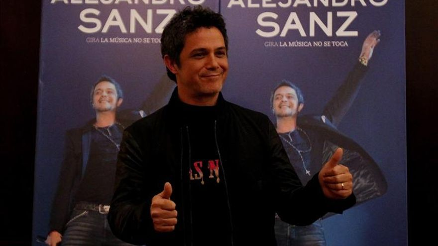 """Alejandro Sanz cree que canciones y artistas"""" no tienen la trascendencia de antes"""""""