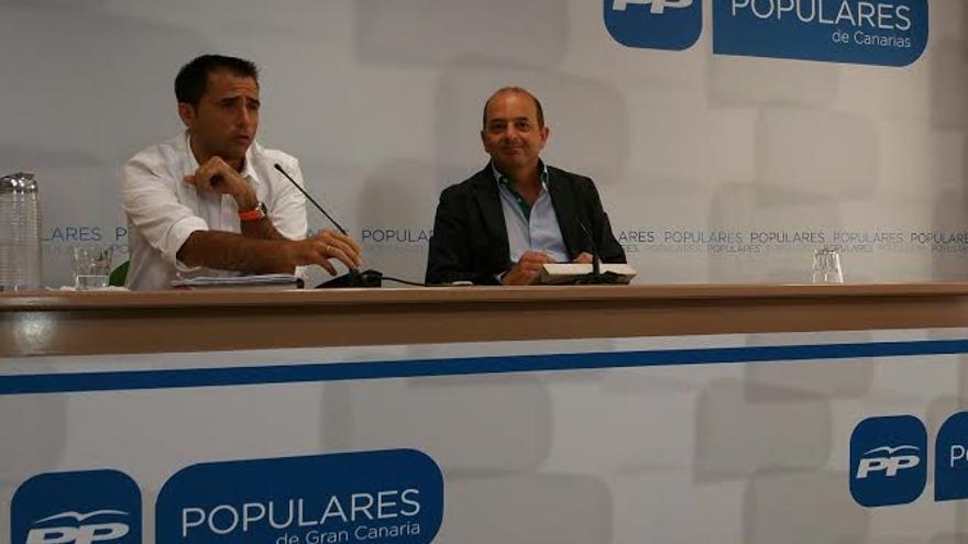 Ángel Sabroso y Juan José Cardona.