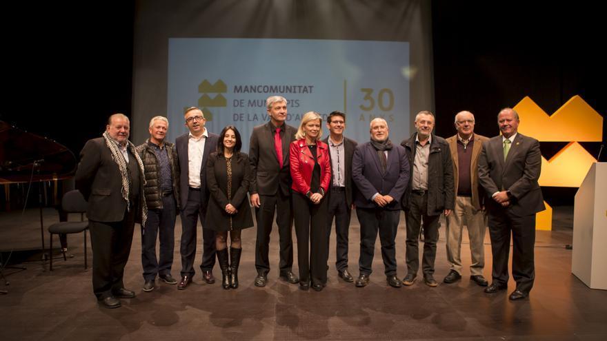El president de la Diputació va participar en el 30 aniversari de la Mancomunitat de la Vall d'Albaida