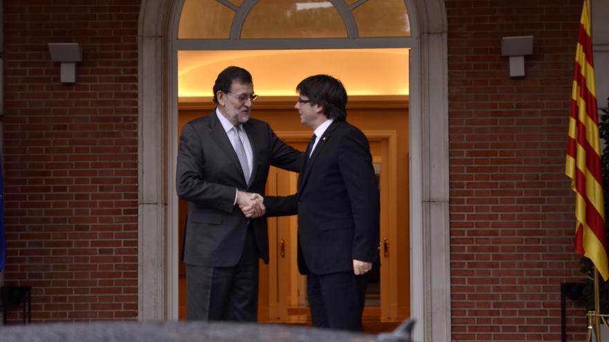 Moncloa responde a Puigdemont que Rajoy le ha recibido cuando se lo ha pedido