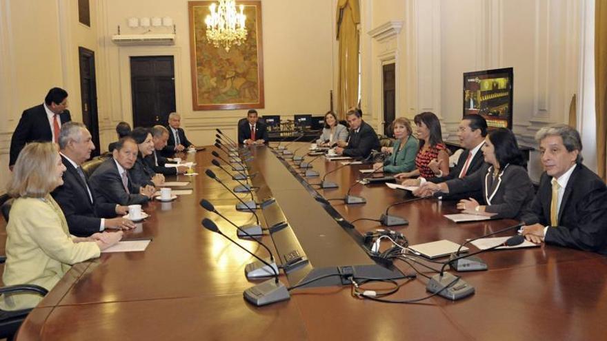 Humala expresa su satisfacción por el fallo de La Haya en el litigio con Chile