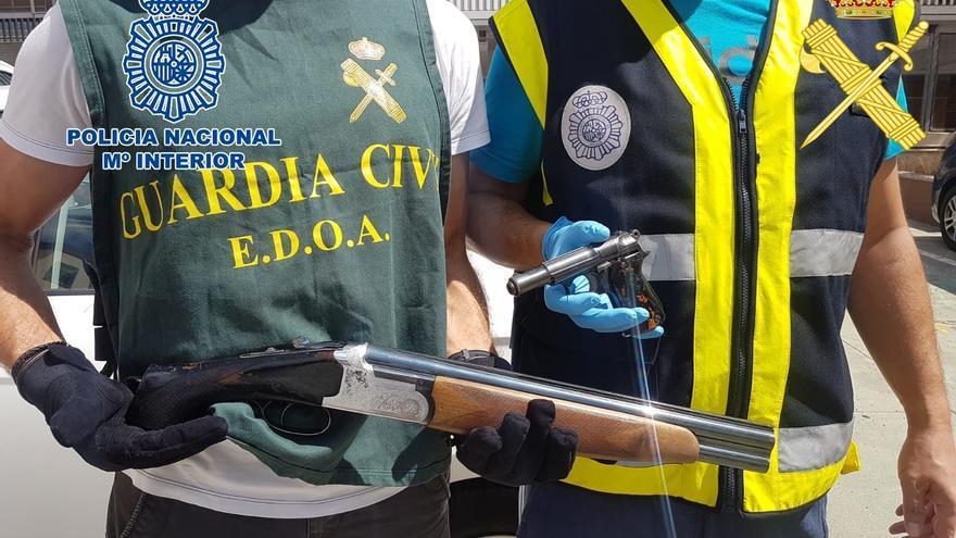 La Policía Nacional y la Guardia Civil desarticulan una peligrosa organización criminal especializada en robos violentos