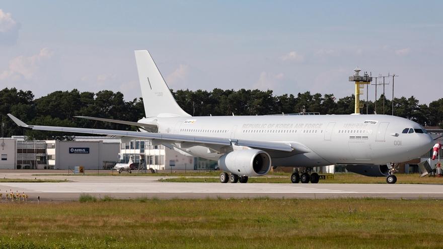 Foto del Airbus A330 MRTT del Ejército del Aire coreano