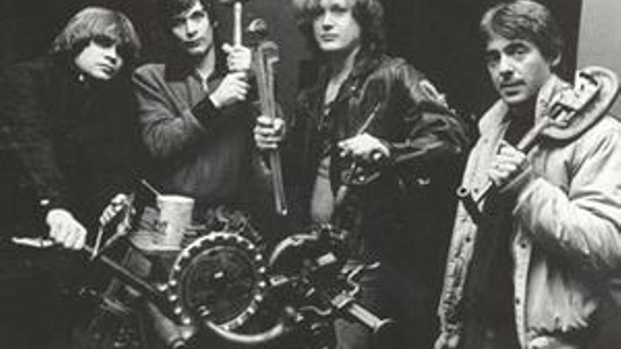 La banda The Lyres, en una imagen retrospectiva.