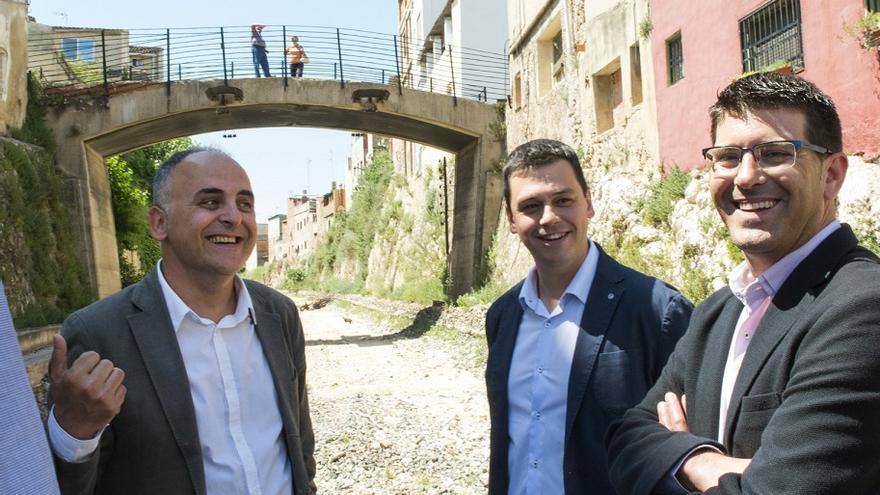 Imatge de la visita de Jorge Rodríguez a Manuel
