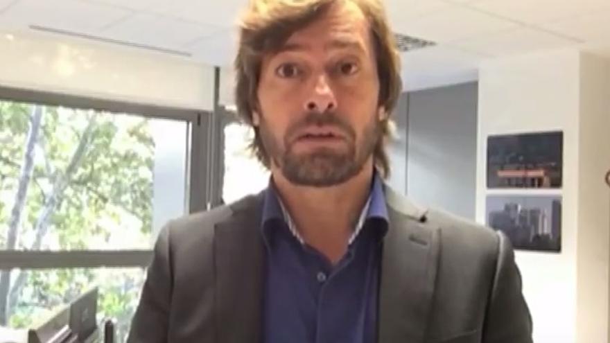 El juez Santiago Pedraz en el vídeo que pide defender RTVE