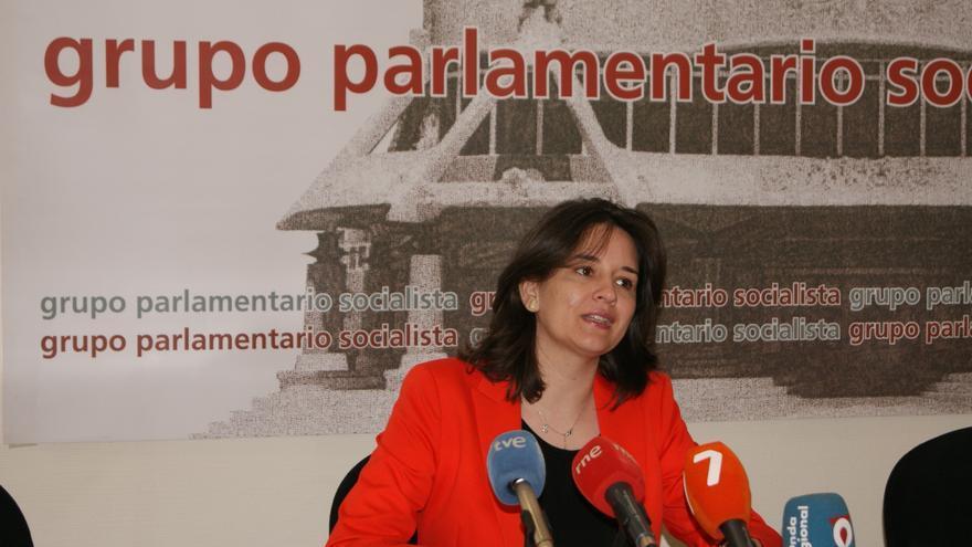 La diputada y responsable de educación del PSOE murciano, Choni Ludeña