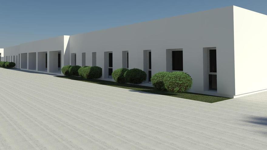 Recreación de las nuevas instalaciones sociosanitarias.