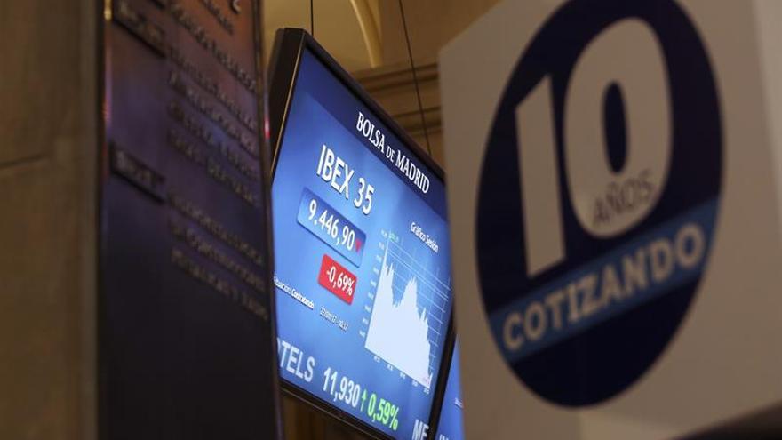El IBEX reacciona al alza del PIB y sube 0,51 % por encima de 10.700 puntos